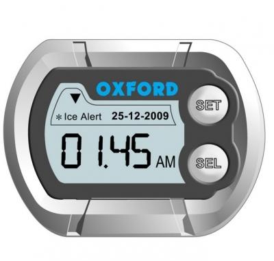 Zegarek na motocykl z termometrem Oxford OF219