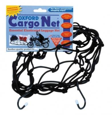 Siatka bagażowa - pająk - Oxford Cargo Net OF127 czarna