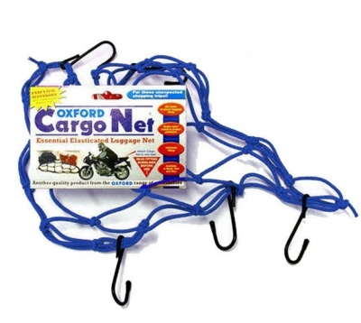 Siatka bagażowa - pająk - Oxford Cargo Net OF129 niebieska