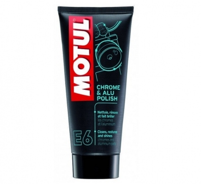 Motul E6 - pasta polerska do chromu i aluminium
