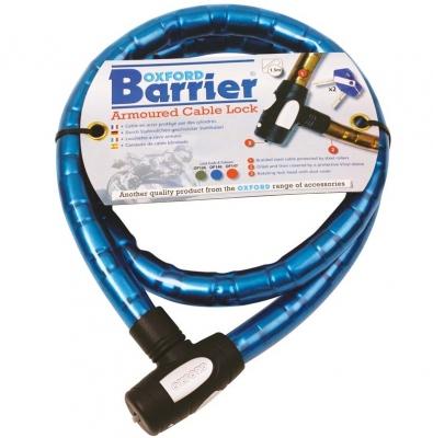 Oxford OF146 Barrier - linka zabezpieczająca motocykl 1,5m, niebieska