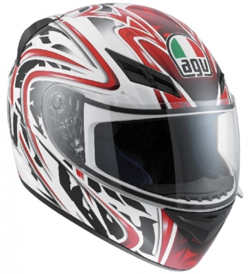 AGV K-3 Wire White/red