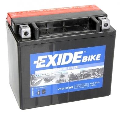 Akumulator AGM Exide YTX12-BS 150x87x130
