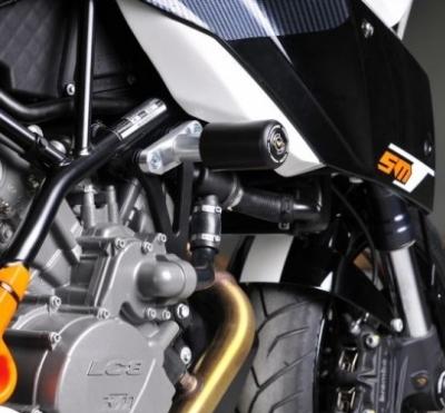 Crash pady KTM 990 Superduke Supermoto R/T 2004-2013 Womet - Tech