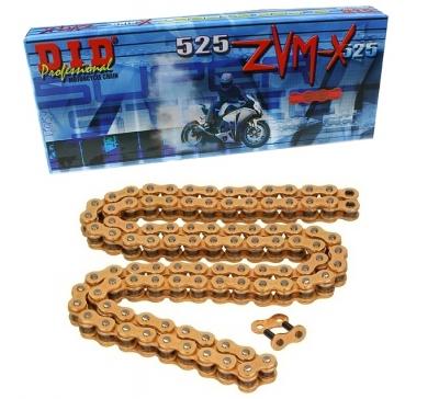 Zestaw napędowy Yamaha TDM 900 2002-2013 (DID ZVMX 525 złoty, JT)
