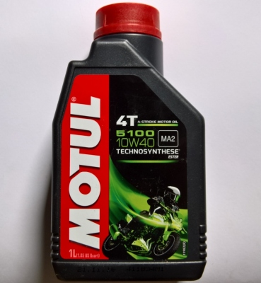Olej Motul 5100 Ester 10W40 1L półsyntetyczny