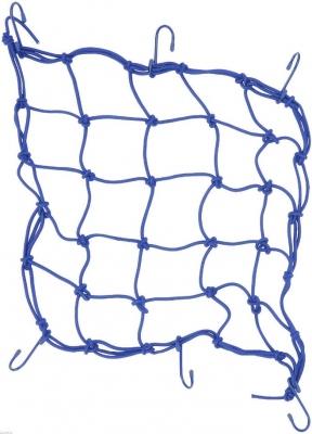 Siatka bagażowa pająk - niebieski
