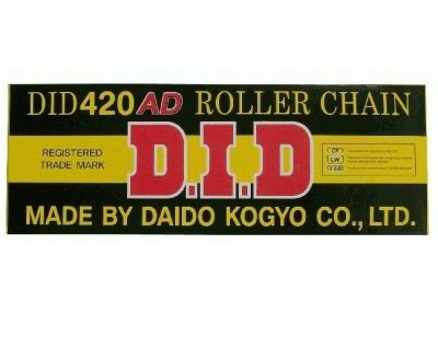 Łańcuch napędowy DID 420 AD - 132 ogniwa