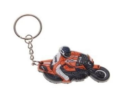 Breloczek motocykl z gumy