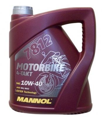 MANNOL MOTORBIKE 10W40 4L 4T ESTER