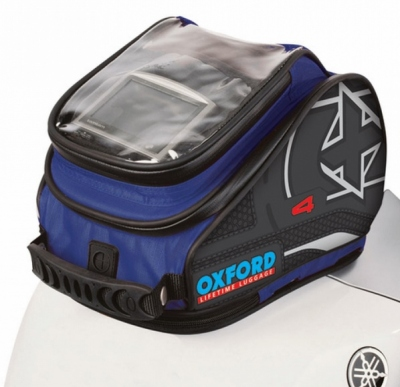 Tankbag Motocyklowy Oxford X4 OL177, 4 litry kolor niebieski