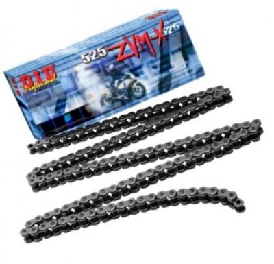 Łańcuch napędowy DID525 ZVMX-118LE zakuty 118 ogniw