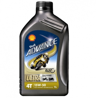 Shell Advance Ultra 4T 15W50 1 Litr
